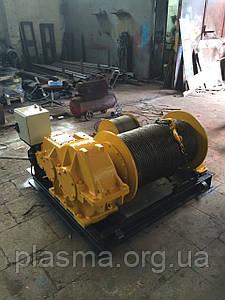 Лебідка електрична тягова ТЕЛ-1, ТЕЛ-2, ТЕЛ-3