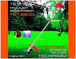 Бензотриммер (мотокоса)   Бензокоса Техпром 6300   (1 диск, 1 бабина)   SVET