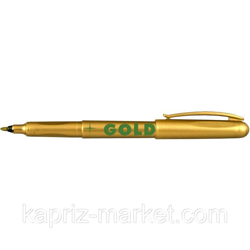 "Маркер ""Centropen"", 1 мм, колір золотий"