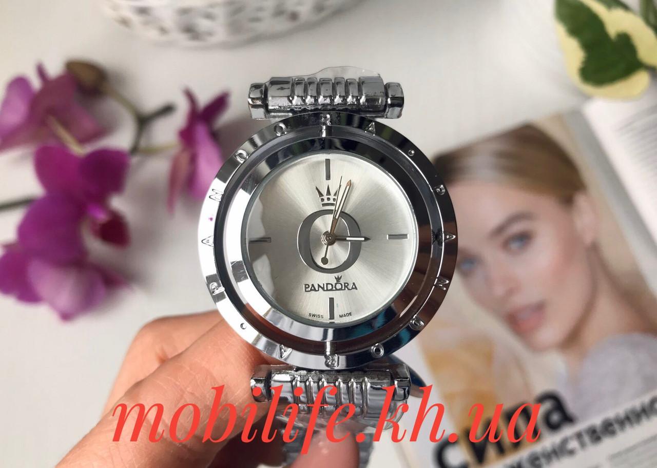 Часы женские копия Lux Pandora серебро