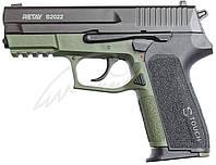 Пистолет стартовый Retay S2022. Цвет - olive., фото 1