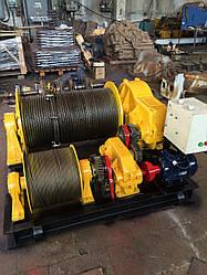 Лебедки электрические маневровые ТЛ-8Б