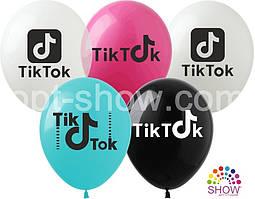 """Воздушные шары Tik-Tok TM Show 12"""" (100 штук)"""