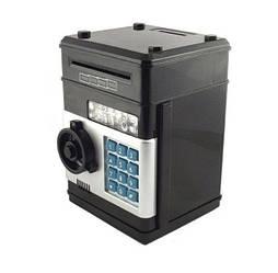 Копилка сейф UKC с кодовым замком и купюроприемником для бумажных денег и монет (590303)