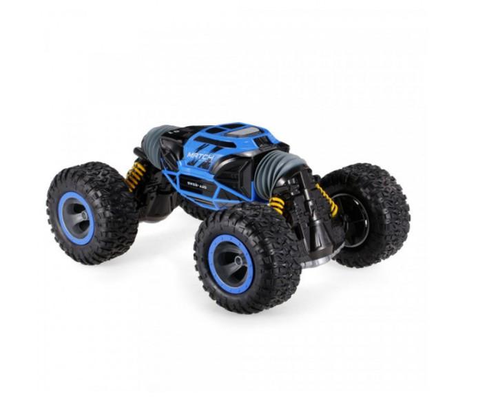 Радиоуправляемая машина HYPER Leopard King вездеход джип перевертыш, 4WD, 34 см, синяя (891206)
