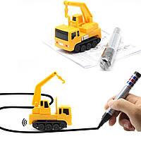 Игрушки для мальчиков - машинка Inductive Truck пластик, от батареек LR44, детские игрушки, детские машинки