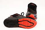 Кроссовки мужские черные сетка в стиле Nike, фото 5