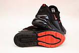 Кроссовки мужские черные сетка в стиле Nike, фото 6