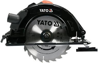 Дисковая пила 235 мм 2800 Вт YATO YT-82154