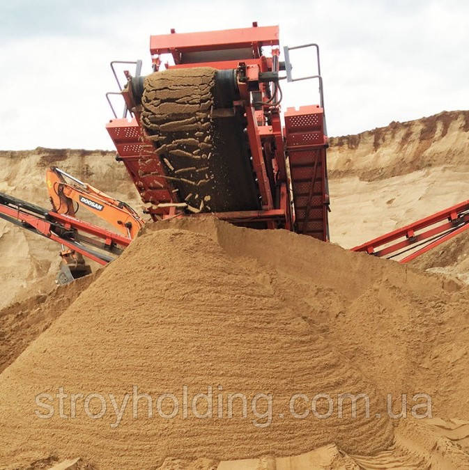 Песок вознесенский Никитинский крупный мытый 2,5-3,0 мм (Одесса)