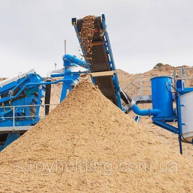 Песок вознесенский мытый для бетона Антарес 2,2-2,4 мм (Одесса)