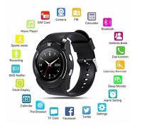 V8 Smart Watch Original Розумні годинник з Bluetooth / SIM / Sdcard Чорні