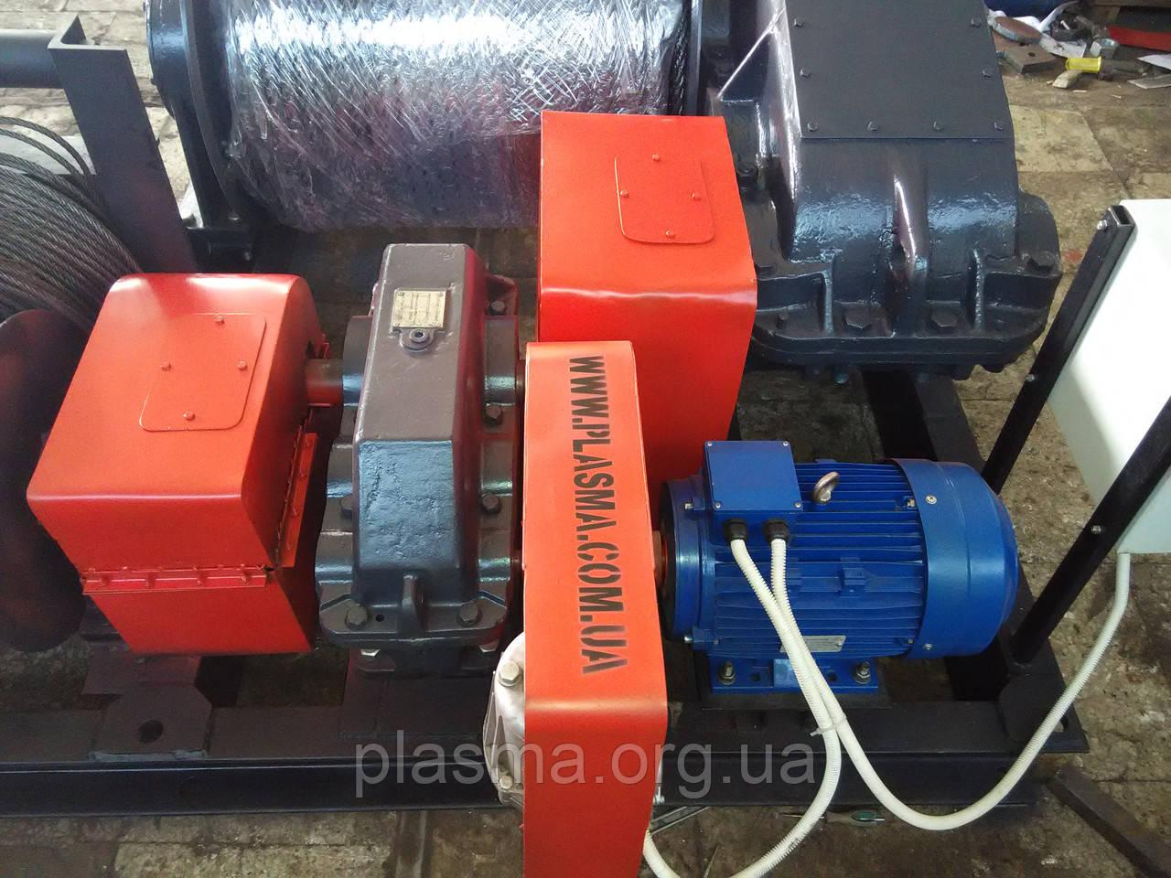 Лебедка электрическая тяговая ТЛ-15