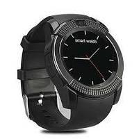 Сенсорний Smart Watch Coolki V8 Android, 128МБ, камера 1,3 МП, мікрофон, чорні, смарт годинник, розумні годинник