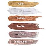 MEHRON Металлическая пудра-порошок Metallic Powder, Rose Gold (Розовое золото), 21 г, фото 4