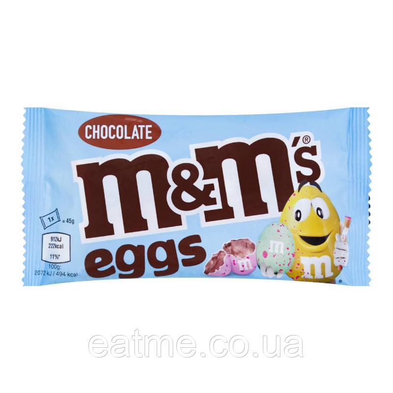 M&M's eggs Шоколадные драже в виде яиц