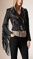 Куртка из кожи с бахромой, фото 1