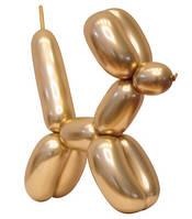 ШДМ 260 Зеркальный модельный шар хром, золотой
