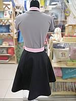 Фартух-сарафан з вишивкою імені \ логотипу \ тексту, фото 3
