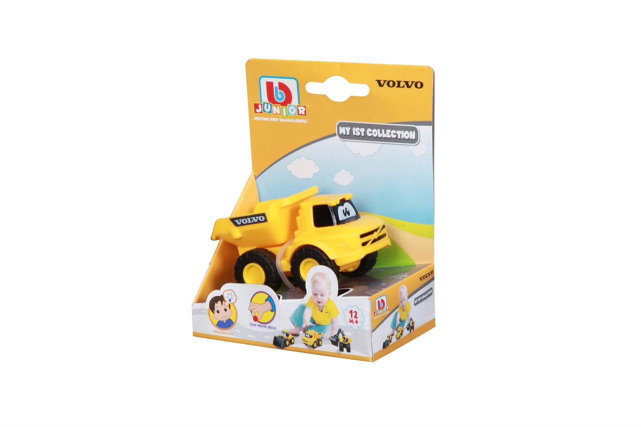 Игрушка машинка для детей самосвал Volvo, строительная техника, в ассорт. 3 вида (16-85123 самосвал Volvo)