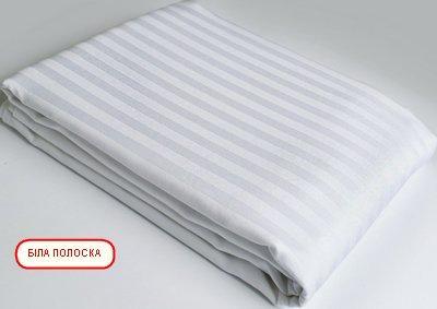 Європростирадлона резинці - Біла полоска