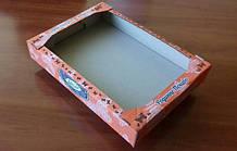 Лоток кондитерський з двохколірним друком / Лоток кондитерских с двухцветной печатью