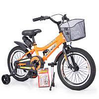 """Детский Велосипед INTENSE 16"""" N-200 Orange +Насос+Рем.коплект +Бутылочка"""