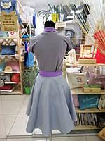 Фартук-сарафан с вышивкой имени \ логотипа \ текста, фото 3