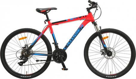 """Горный велосипед 26 дюймов Crosser Flash рама 19""""  RED-BLACK, фото 2"""