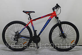 """Горный велосипед 26 дюймов Crosser Flash рама 19""""  RED-BLACK"""
