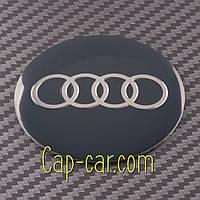 Наклейки для дисков с эмблемой Audi. (Ауди ) Цена указана за комплект из 4-х штук