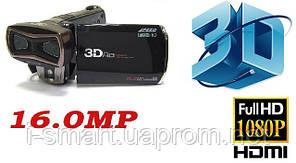 ЦИФРОВАЯ ВИДЕОКАМЕРА 3-D FULL HD 1080P 16.0 M.P + 32Gb card 10 class