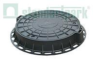 Люк  ГОСТ 3634-99 пластиковий D800 (чорний)