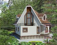 Каркасный дом - американский проект Белоснежка 150 кв.м.
