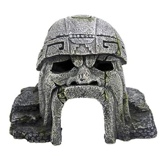 Декорация в аквариум керамическая Статуя Майя, 14,2х10х10,3 см