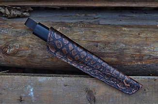 """Нож ручной работы якутского типа """"Этнический"""", фото 2"""