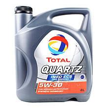 Моторное масло Total Quartz Ineo ECS 5W-30 4L (151510)