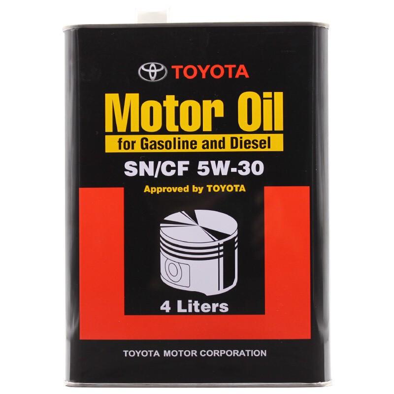 Моторное масло Toyota SN/CF Japan 5W-30 4L (08880-83322)