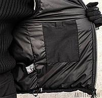 Жилетка утеплённая с капюшоном (ANTITERROR II) Мембрана Black, фото 9