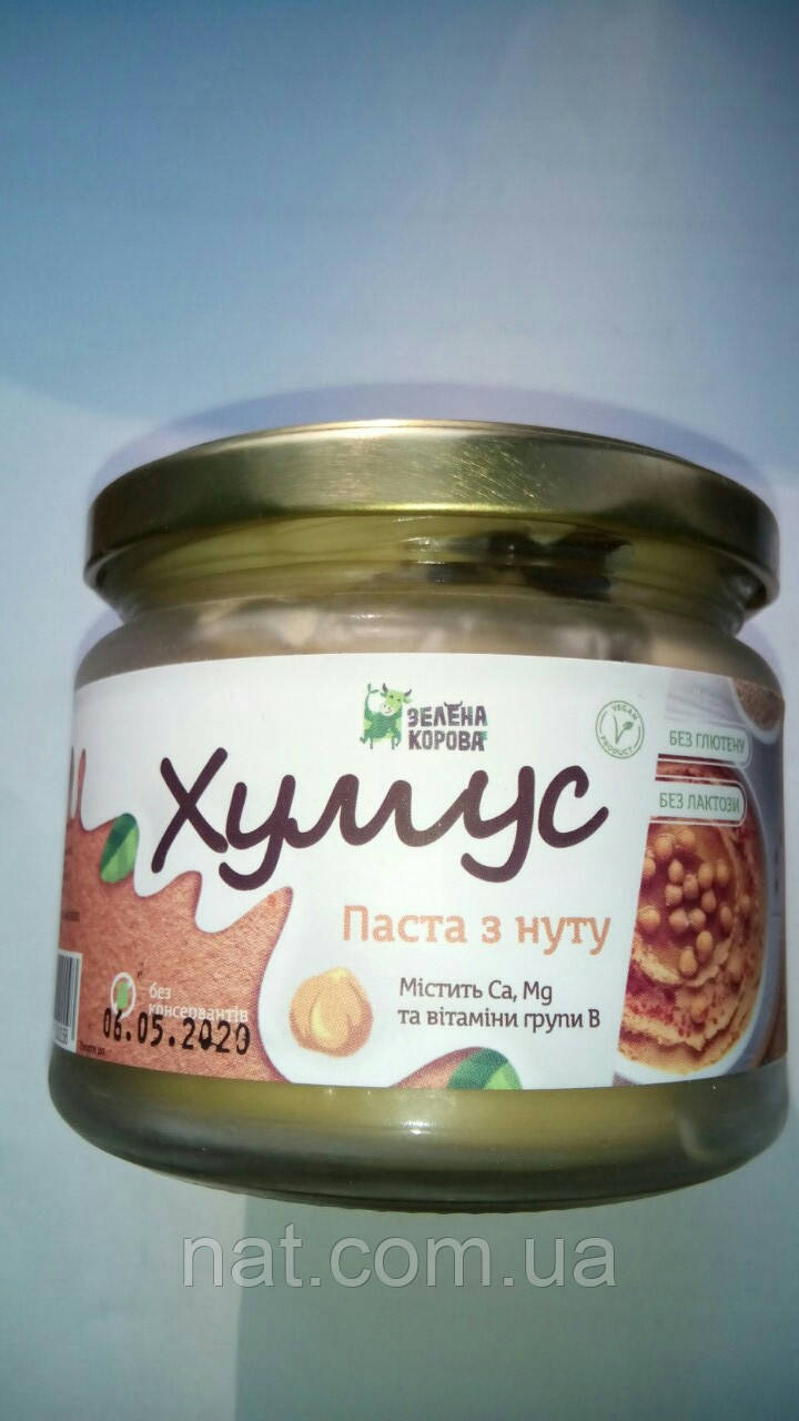 "Хумус натуральный ""Зелена Корова"", 300  г"