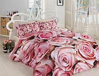 Комплект постельного белья сатин 3d First Choice евро размер Callia