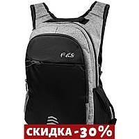 Смарт-рюкзак Valiria Fashion Мужской рюкзак Серый