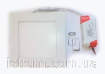 Светильник светодиодный DownLight 22Вт 220х220 220В