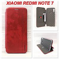 Чехол-книжка Gelius Leather для Xiaomi Redmi Note 7 (Красный)