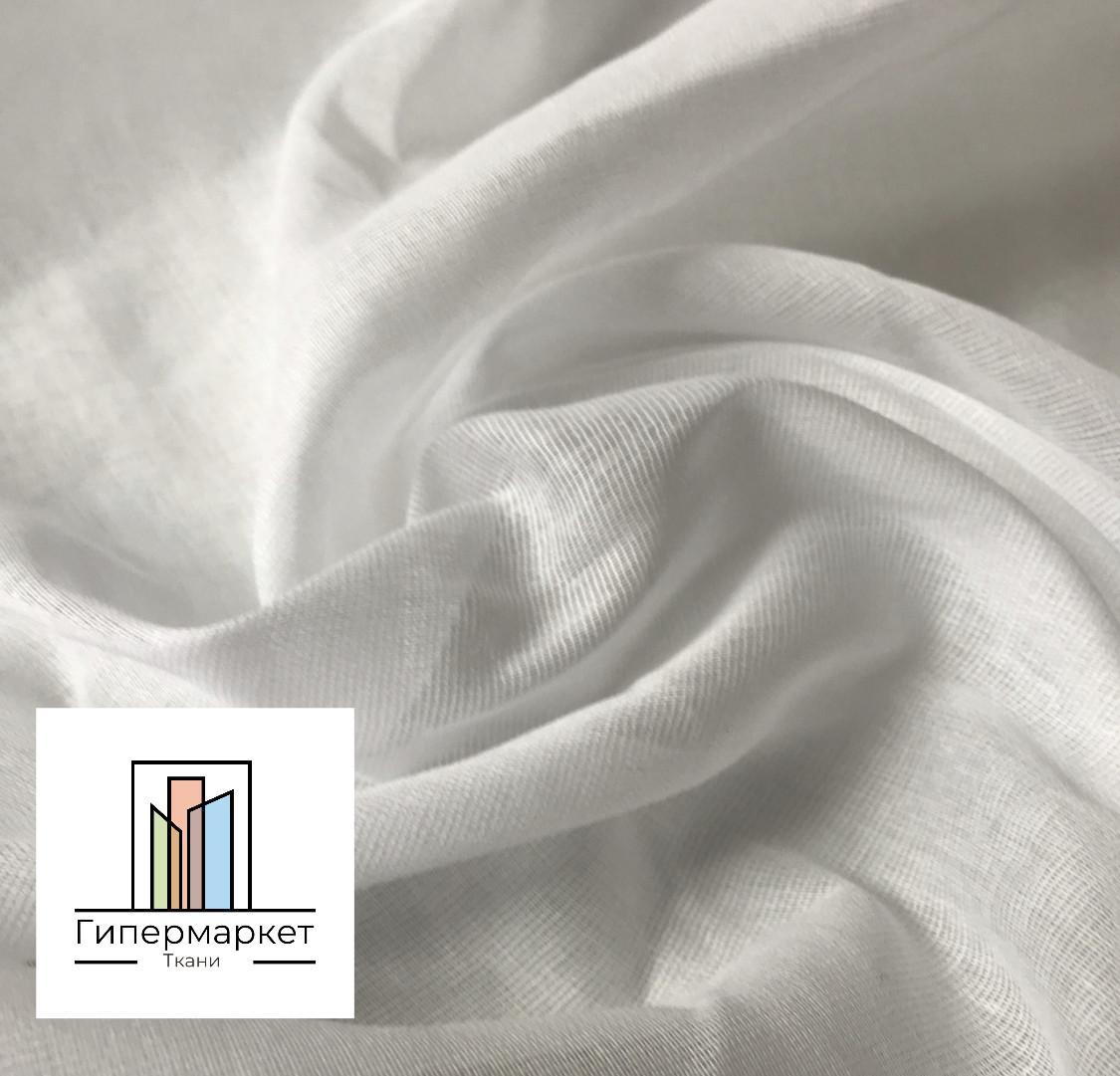 Ткань Белый Ситец 80см ширина 100% хлопок