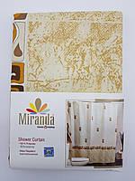 """Штора для ванной """"Miranda"""" 180х200см.ASTURIA (бежевый)"""