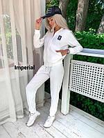 Стильный женский спортивный костюм qp (реплика)