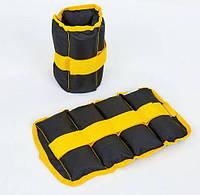 Обважнювачі-манжети для рук і ніг 2 х 2 кг ZA-2072-2