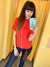 Блуза Жін. 42(р) червоний 120-1155 White Туреччина Літо-C
