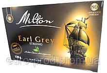 Чай черный Milton Earl Grey Strong, 80 пакетов с бергамотом, 35 грн.